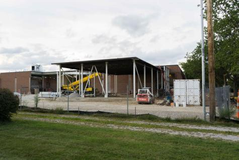Philips Gym Renovation Continues Throughout School Year