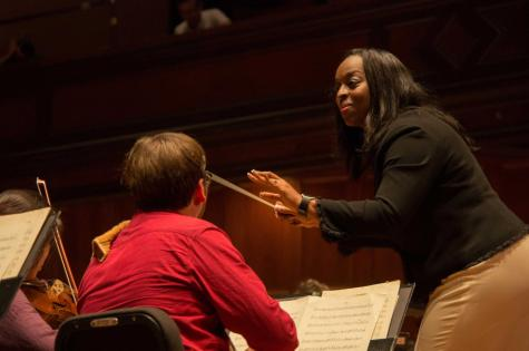 Jiménez, Ambar Conduct Opening Oberlin Orchestra Concert