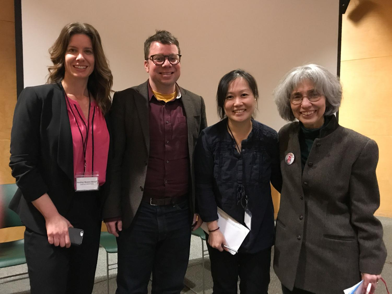 """Scholars of Japanese literature convened in Oberlin last weekend for a conference on """"Violence, Justice, & Honor in Japan's Literary Cultures."""""""