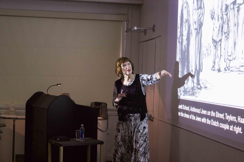 Dr. Shelley Perlove, author and Professor Emerita of the History of Art.