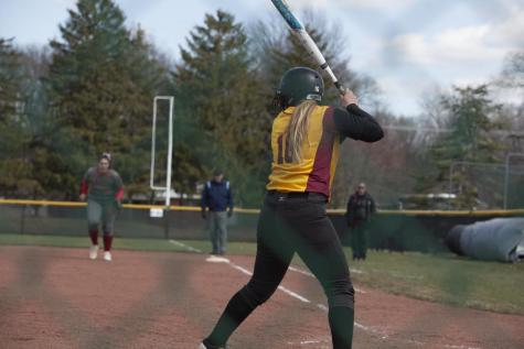 Softball Sweeps Terriers, Falls to Crusaders
