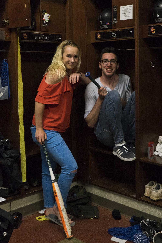 Alexis Dill and Alex McNicoll