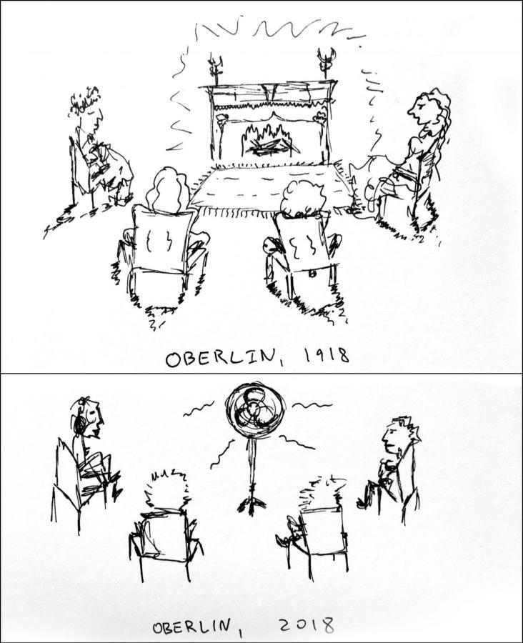 Oberlin: 1918 vs. 2018