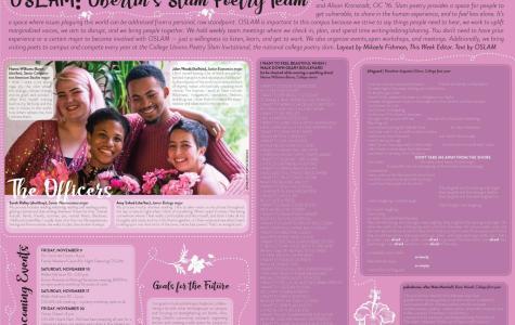 OSLAM: Oberlin's Slam Poetry Team