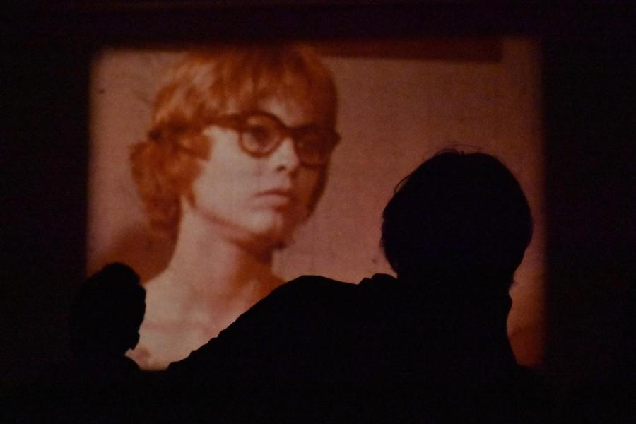 A+still+from+one+of+filmmaker+Luther+Price%E2%80%99s+short+films%2C+screened+Tuesday+in+the+Clarence+Ward+%2737+Art+Building.
