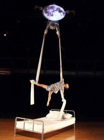 Dance major Teddy Ment performs in her senior dance showcase, Nova.