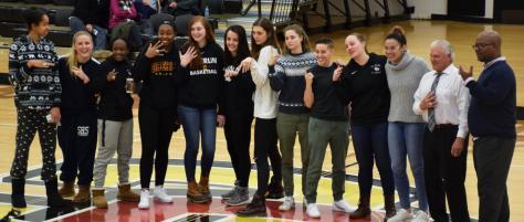 Women's Basketball Gets New Bling