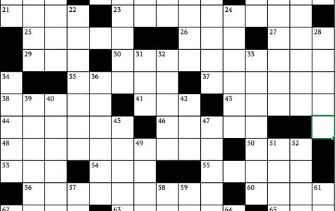 Crossword: Celebrities Incognito