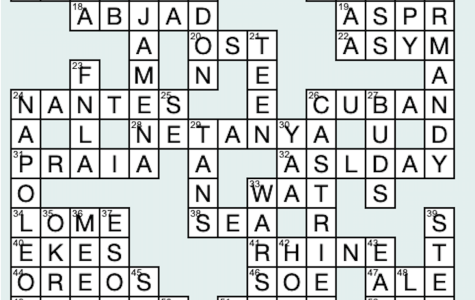 Around the World in 105 Days: Crossword Answers