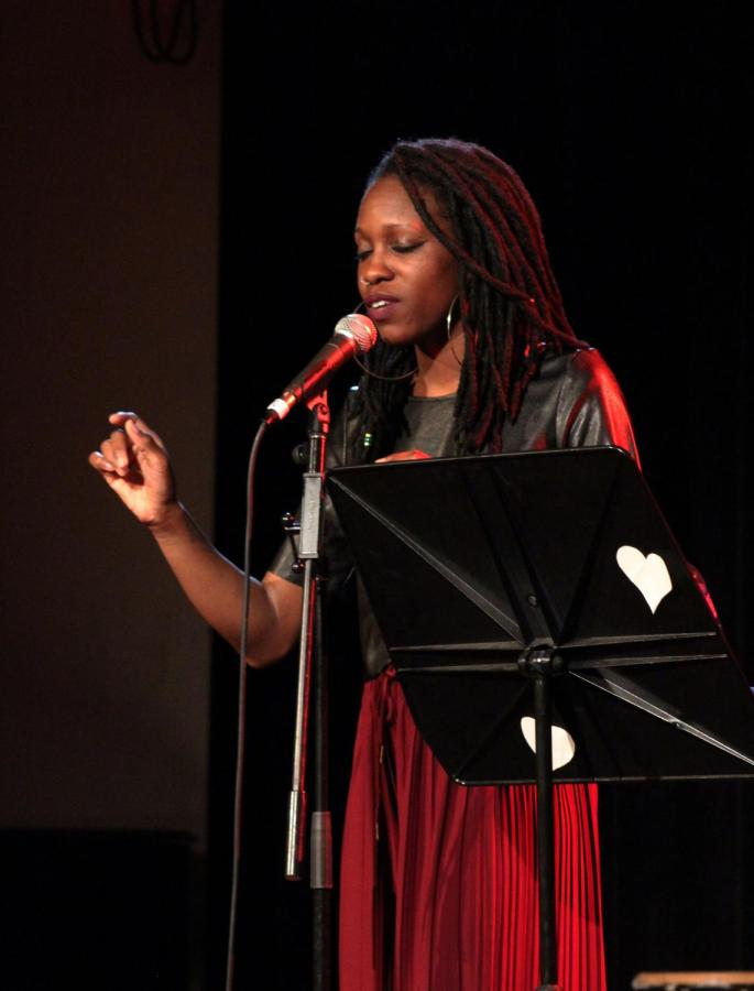Alyesha+Wise+shared+her+poetry+at+the+Cat+in+the+Cream+last+Sunday+as+part+of+programming+sponsored+by+OSlam+and+the+SIC.