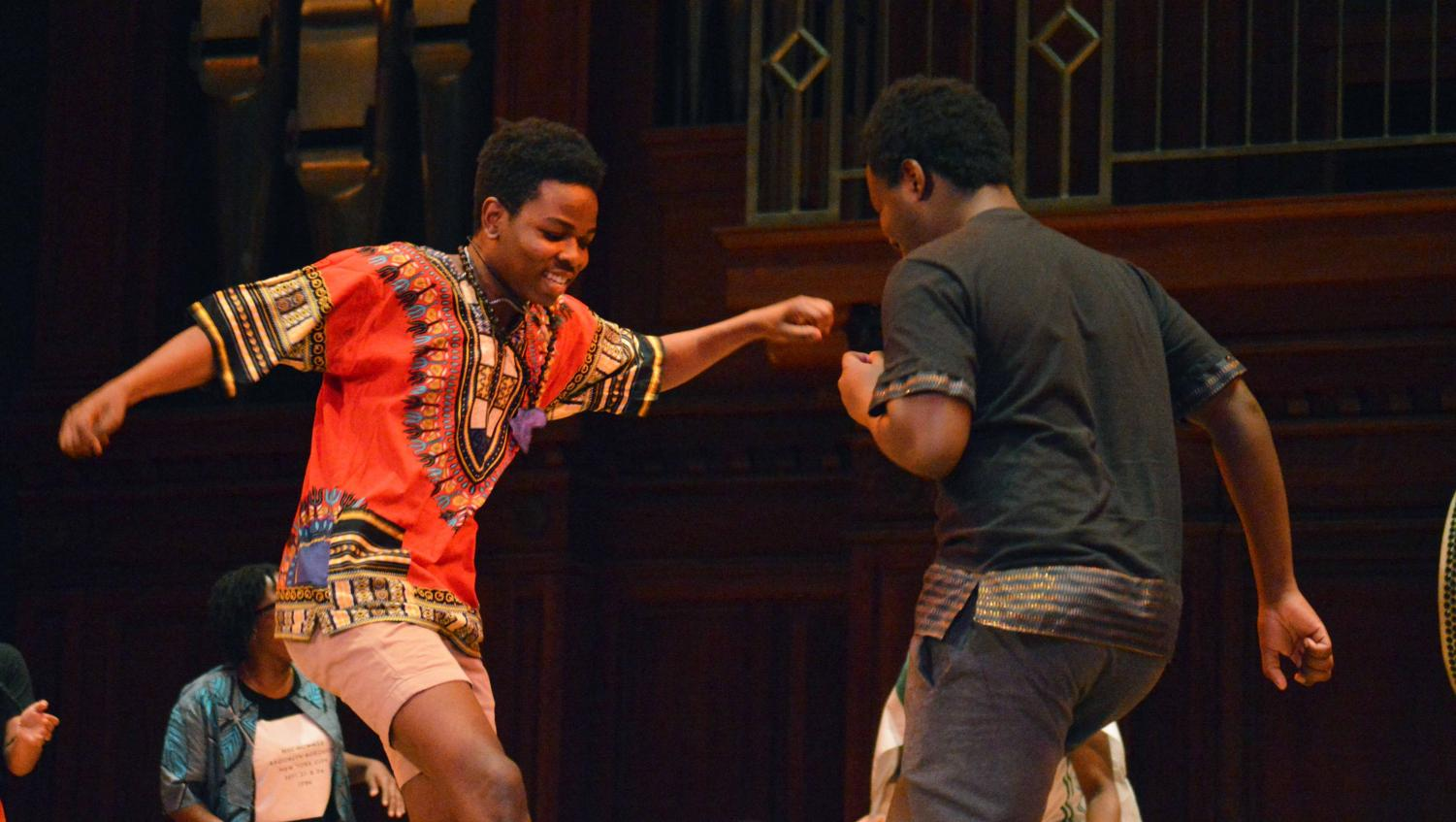 """Students turned out in force this Wednesday for the 23rd annual Colors of Rhythm showcase. This year, the theme was """"Freedom in this Village."""""""