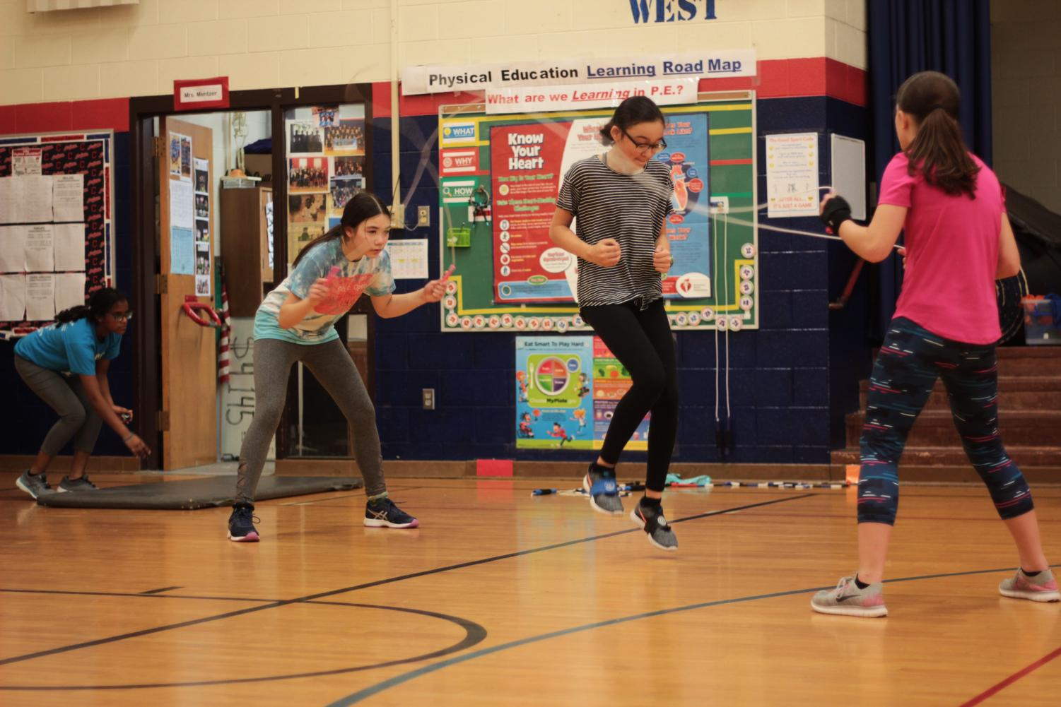 OB Jump, a competitive jump rope team made up of 16 Prospect Elementary School and Eastwood Elementary students, is preparing to compete at Nationals in Raleigh, NC, this June. However, Coach Jenny Mentzer values more than just winning — she teaches her athletes life skills like confidence and leadership.
