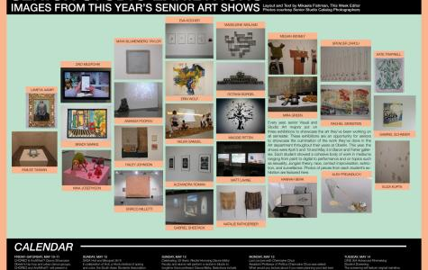 Senior Studio Exhibitions