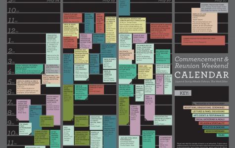 Commencement & Reunion Weekend Calendar