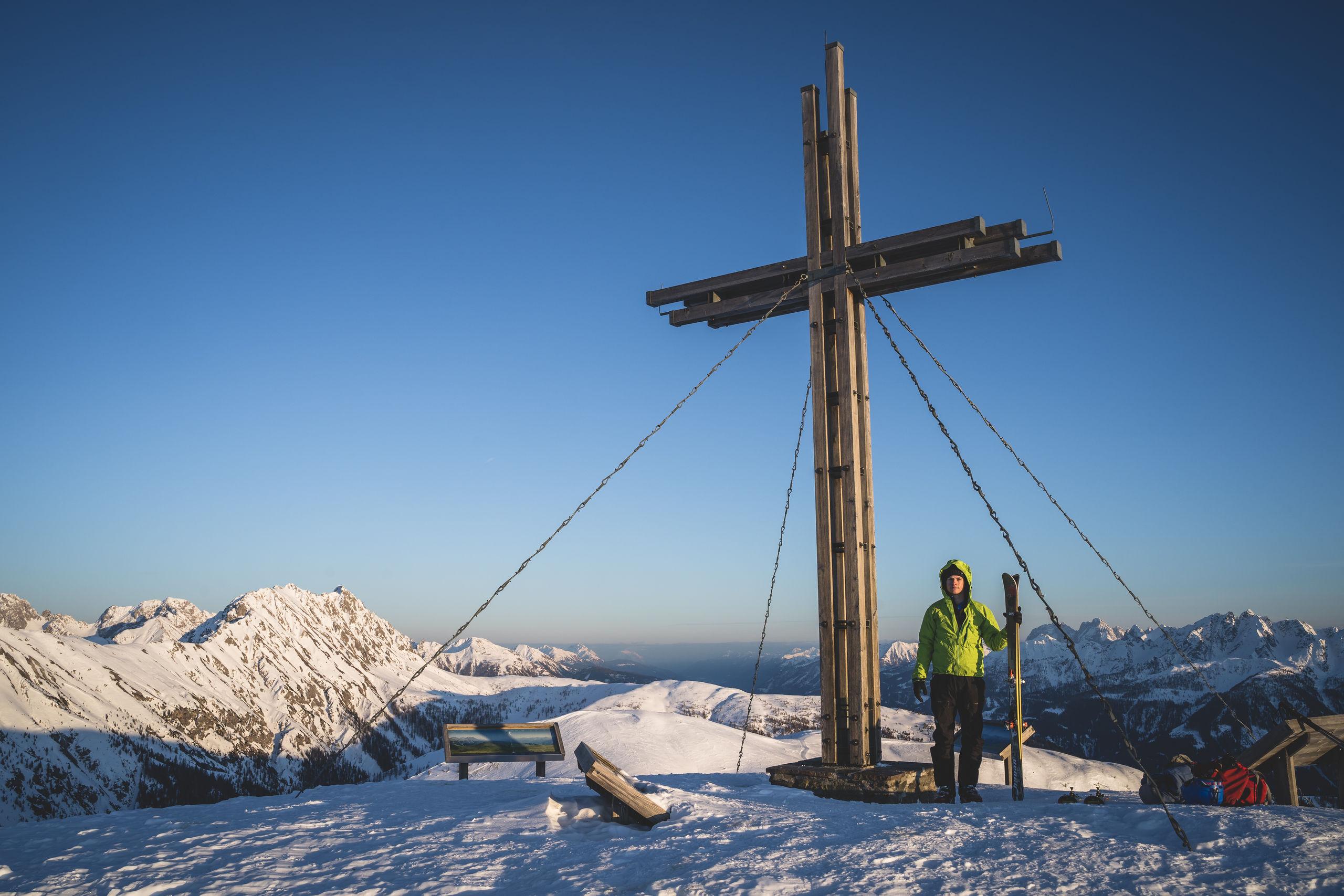 Gipfelkreuz Golzentipp