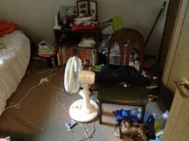 片付けられない汚部屋の掃除サービス 大阪の片付け業者トリプルエス