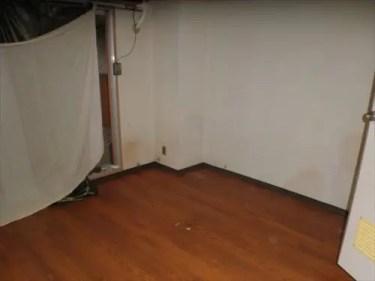 不用品回収後の床の様子