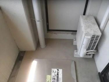 マンションのベランダを除菌洗浄 大阪のトリプルエス