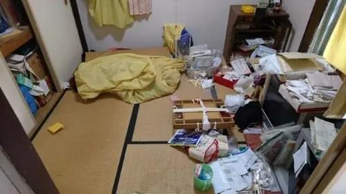 モノであふれた物持ちが良い母の部屋