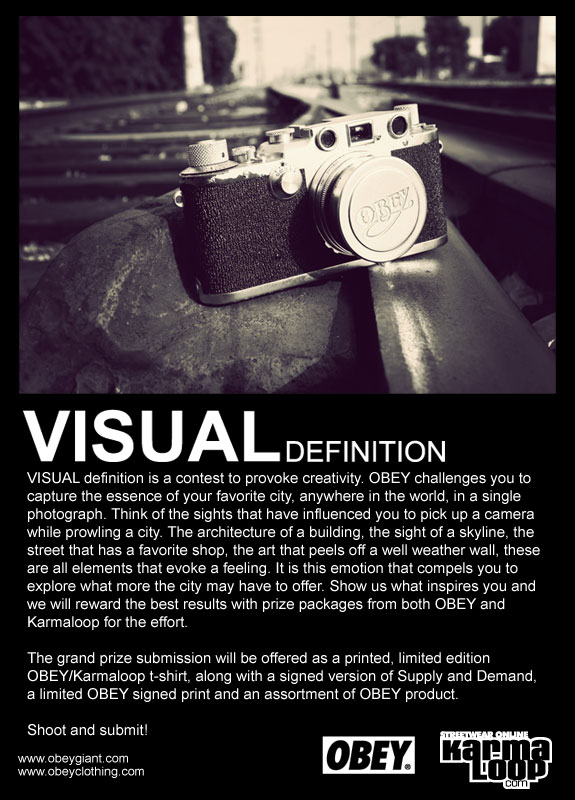 OBEY VISUAL definition