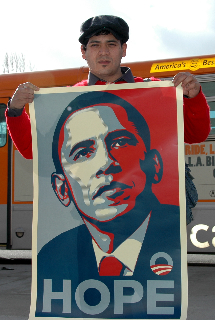 Barack Obama - Obey Giant