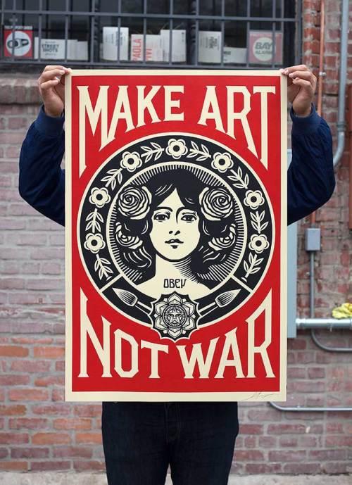make-art-not-war-offset