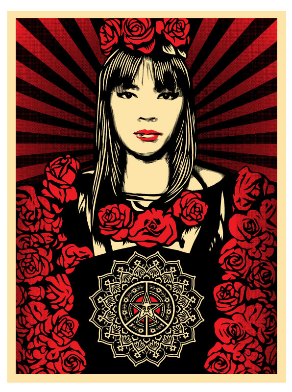 Rose Girl - Obey Giant