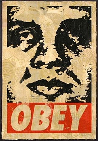 street art or fine art obey giant
