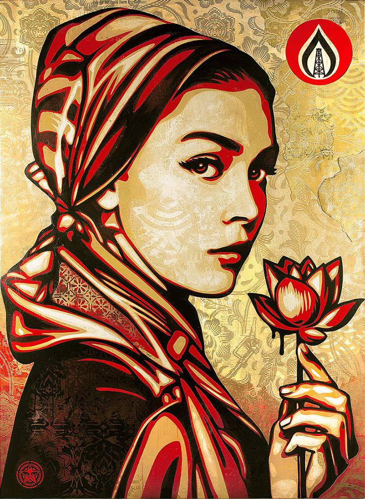 SHEPARD FAIREY: ON OUR HANDS - Obey Giant