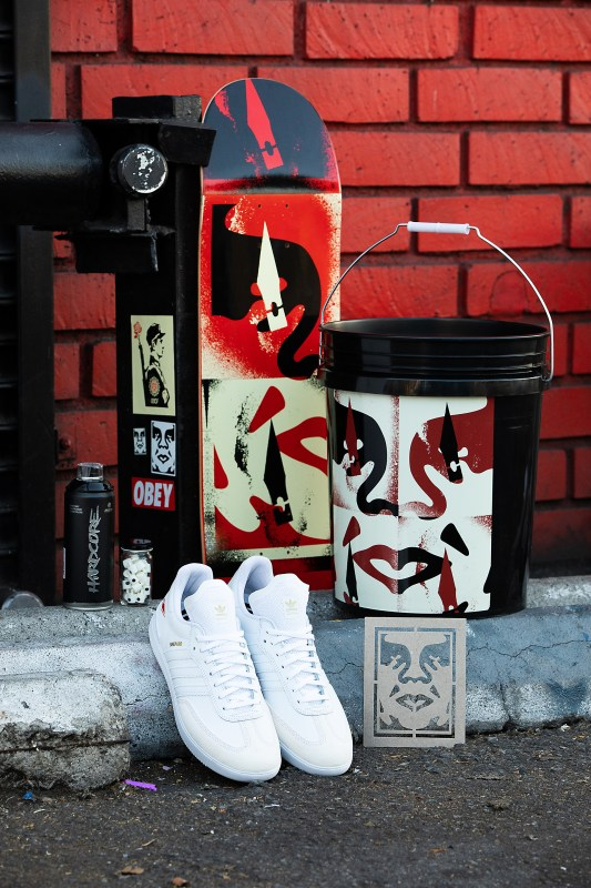 Adidas Skateboarding Celebrates The Creative Legacy Of Shepard Fairey With Limited Footwear Release In Partnership With Beyond The Streets