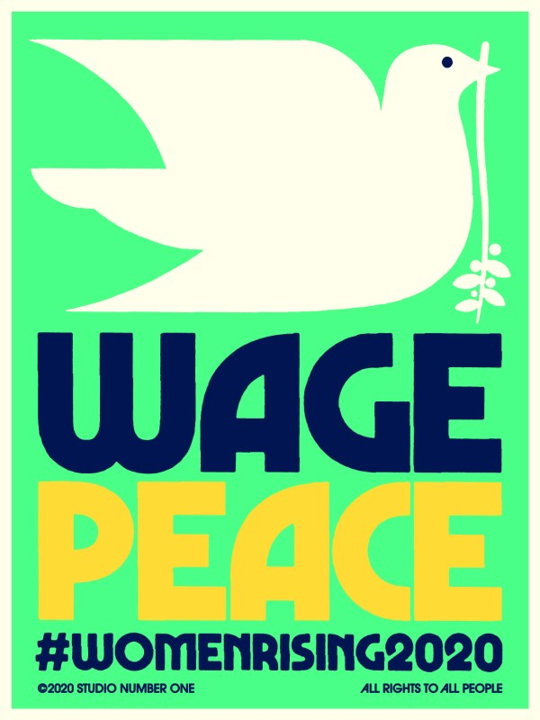 IS_WOMENS-MARCH-2020-WAGE-PEACE-1 - Obey GiantMarch For Peace 2020