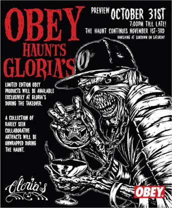 OBEY Takeover at Gloria's