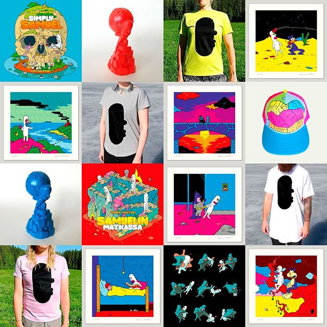 #newgear #samuel #samuelcomic All small editions. Get now for X-mas: http://www.obeysamuel.com/shop
