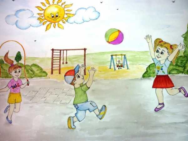 Как я провел лето рисунок карандашом в деревне – Как я ...
