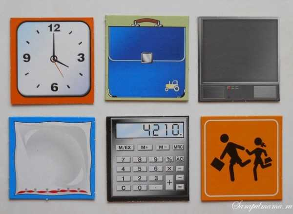 Прямоугольные предметы – Геометрические формы для детей