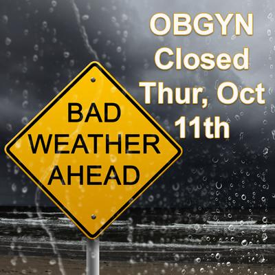closed Thursday, October 11th