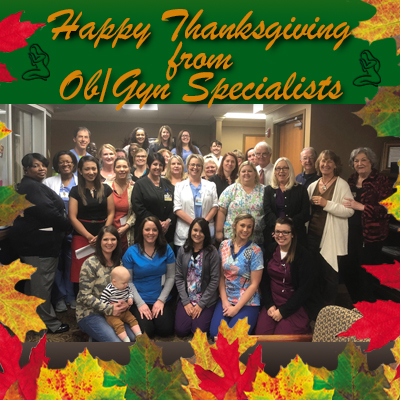 Thanksgiving & Christmas Staff Photos