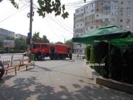 incendiu fast food central slobozia - 04
