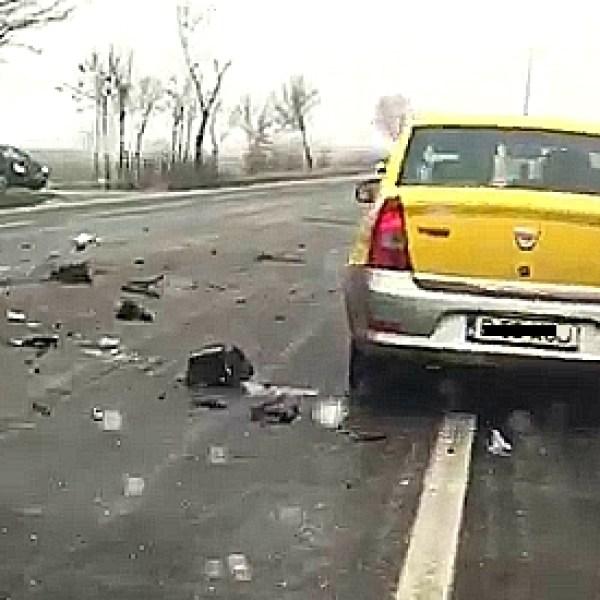 Grav accident pe DN2, în apropiere de Urziceni