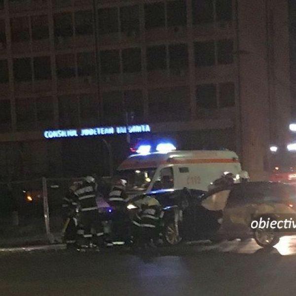Slobozia: Accident rutier - 3 auto implicate