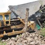 Houses Belonging To Kidnappers Demolished in Anambra