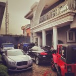 Peter Okoye (Psquare) Shares Pictures Of Their Latest Cars