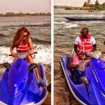 Power Couple: Jim Iyke & Nadia Buari Go Cruising, No Break-up