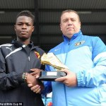 Highly Rated Nigerian Teenager Ogo Obi Joins Man. United On Trial