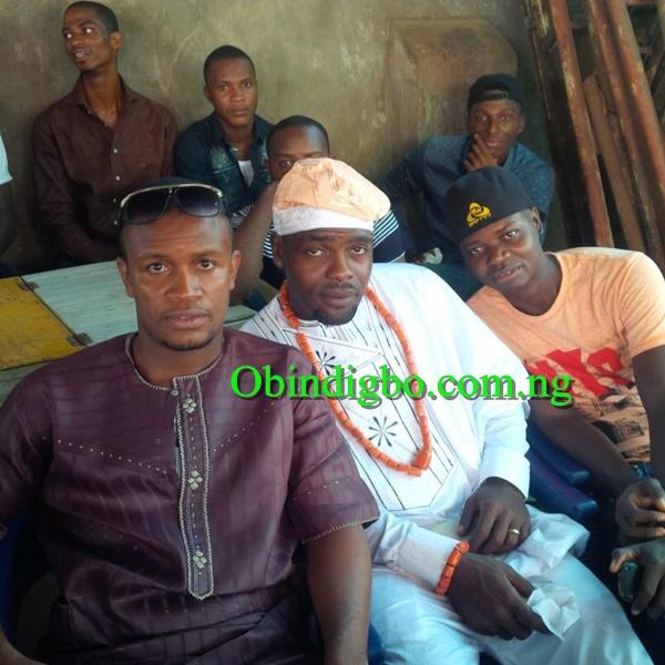 Chibuzor Okonkwo and friends