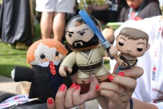 Lil Obi-Rus and his buddies ready for the con