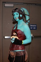 With fellow Jedi Knight Aayla Secura