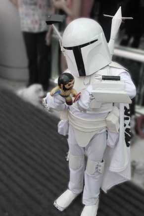 With @minibobafett...uhmm yea remember no disintegrations