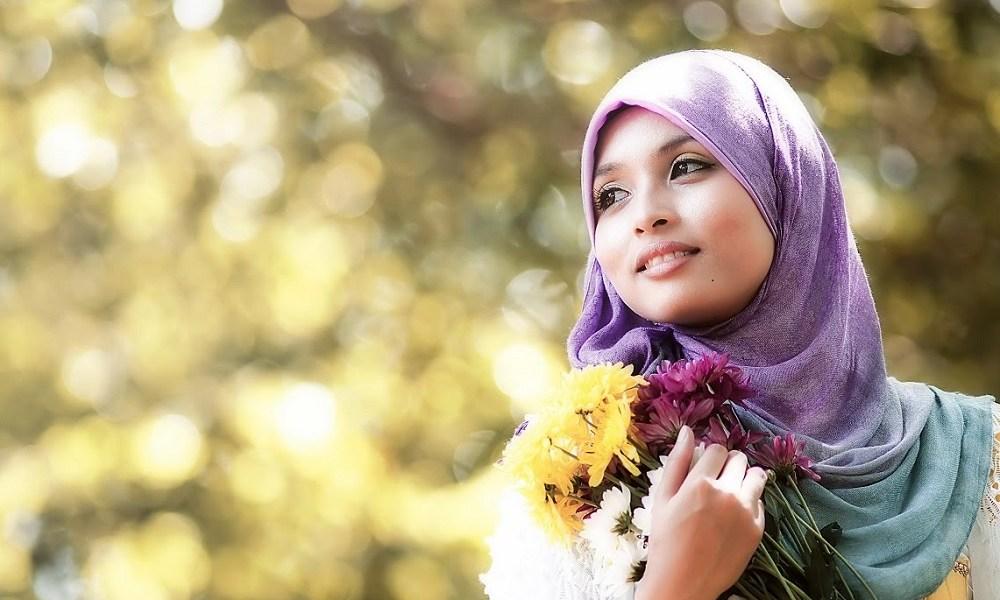 Красивые исламские картинки с надписями для девушек