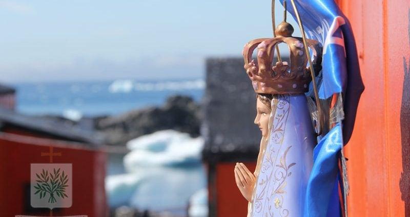 Nuestra Señora de Luján en la Antártida